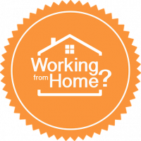 Working from Home badge